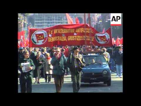 Italy - Communist March In Rome