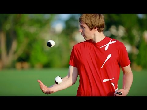 Epic Freestyle Juggling | Matt Weaver