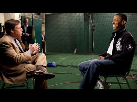 President Obama Talks Baseball with Bob Costas