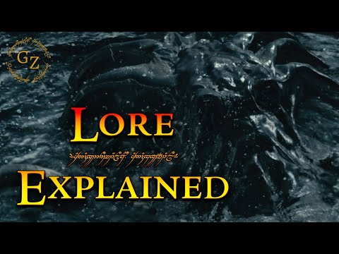 The Watcher in the Water - Lord of the Rings Lore