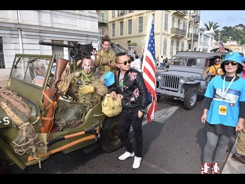 Nice, French Riviera, 8 May, Chinese and American invasion
