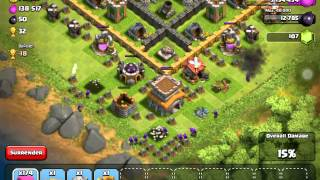HOW TO GET LOTS OF LOOT FAST IN CLASH OF CLANS!!!