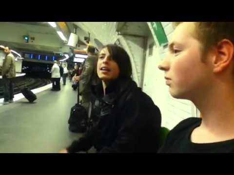 Rehab in the metro (Paris)