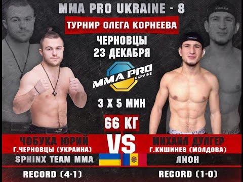 MMA PRO UKRAINE - 8 : Юрий Чобука VS Михаил Дулгар