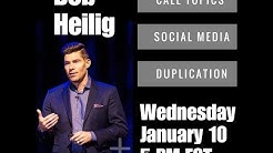 Duplication and Social Media Tips with Bob Heilig for Plexus Leaders