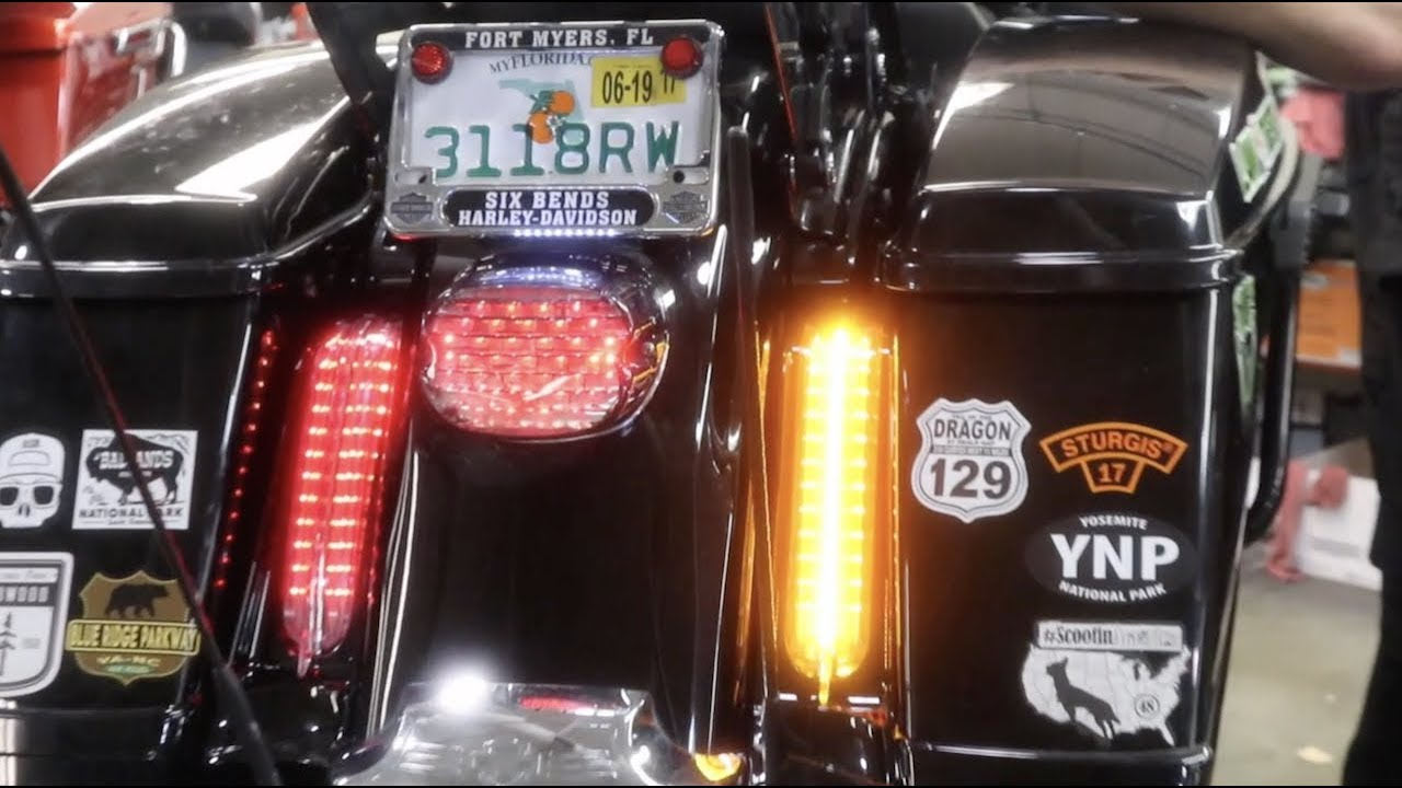 how to instal filler panel lights ciro ultra road king [ 1280 x 720 Pixel ]