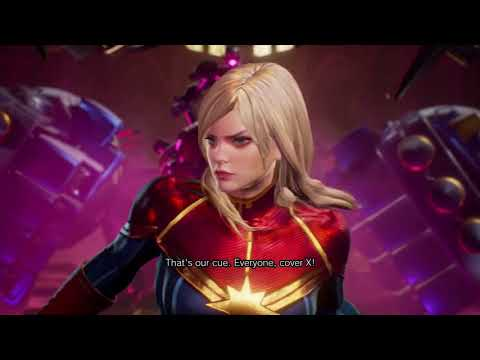 Marvel Vs. Capcom: Infinite Story ENDING Defeat Ultron Sigma Captain Marvel Dante Thor X Spider-Man