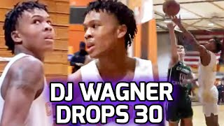 DJ Wagner GOES OFF for 30 Poin…