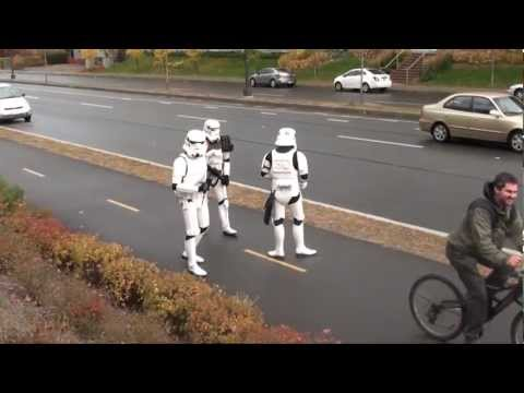 Patrol and road control of stormtroopers in Canada