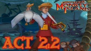 Escape from Monkey Island: Act 2 - Part 2: Enter the Manatee HD Walkthrough (1080p)