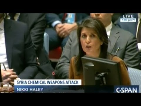 Emergency U.N. Security Council Meeting On Chemical Weapons Attack In Syria