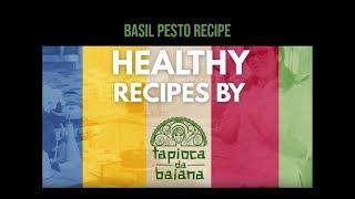 Basil Pesto Recipe #glutenfree