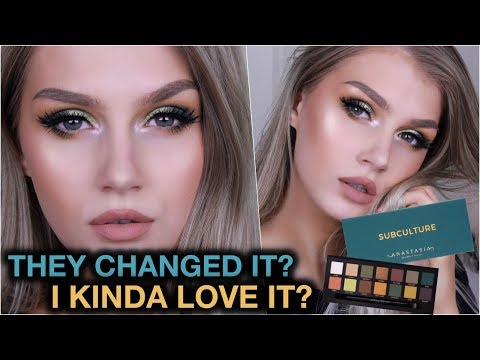 Anastasia SUBCULTURE Palette: They Changed It For the Better??? | BANDWAGON