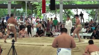 相撲 珍しい決まり手 伝え反り thumbnail