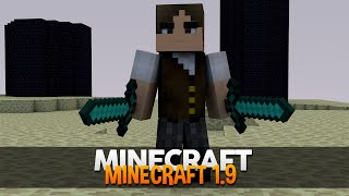 Minecraft: JOGANDO O MINECRAFT 1.9!
