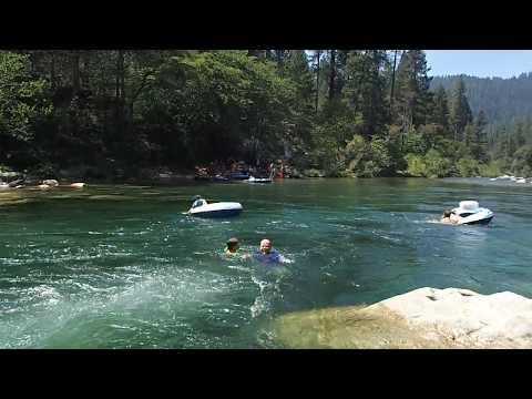 the rapids