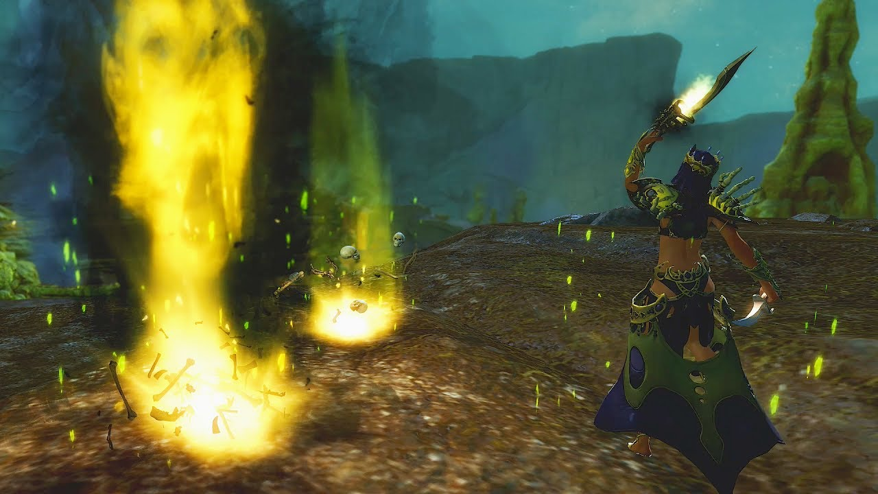 Guild Wars 2: Path of Fire Elite Specializations—Scourge (Necromancer)