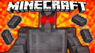 If Netherite Golems were in Minecraft
