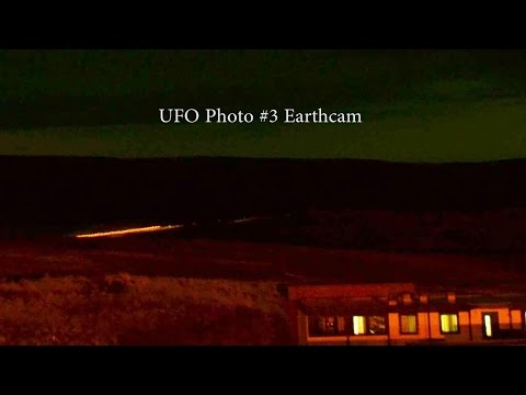 Amazing UFO Sightings Earthcam Iceland Hotel Highland! Enhanced Footage 2014