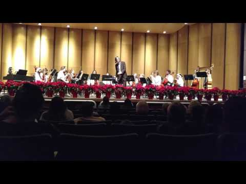 Carol of the Bells Bunker Hill Middle School Winter Concert Orchestra 12/15/16
