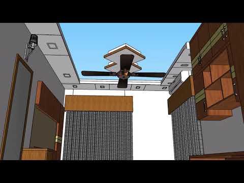 Plan 3D Interior Design Home Plan ll Full Plan 3 Beds,2 Toilet, 1 Kitchen,1 Leaving Room ll Interior