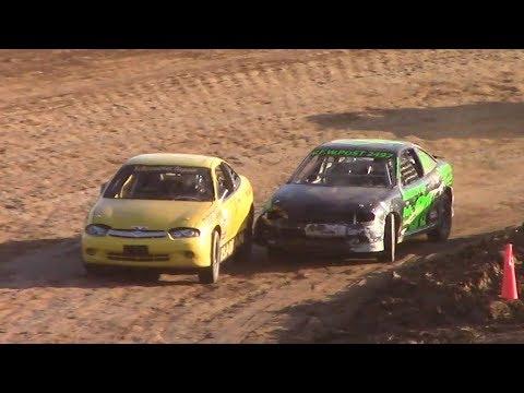 Young Guns Kids Mini Stock Heat | McKean County Raceway | 9-30-17