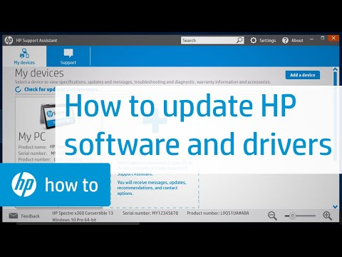 Updating HP Software And Drivers | HP Support | HP