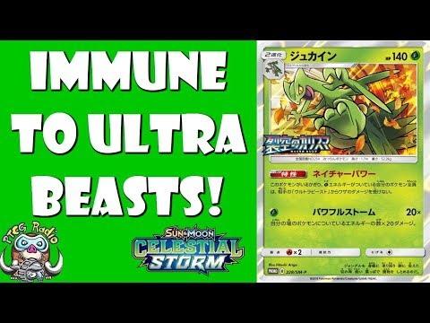 New Sceptile Makes All Your Pokemon Immune to Ultra Beasts!