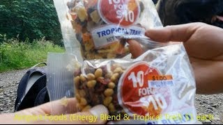 Big Lots Energy Blend & Tropical Trail Mix Snack Review