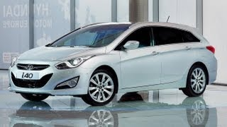 Hyundai i40 First Look Walkaround Video
