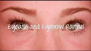 Eyelash and Eyebrow Routine Thumbnail