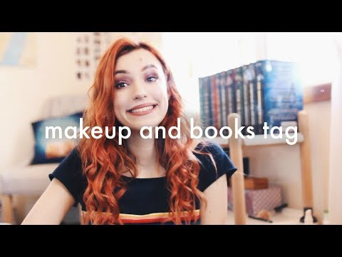 makeup + books = fun