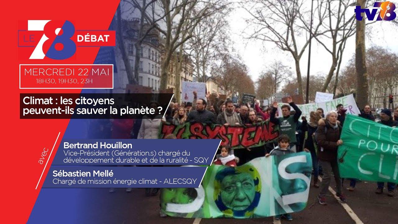 7/8 Le débat. Les initiatives citoyennes sont-elles efficaces pour sauver la planète ?