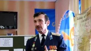Урок мужества в кадетской школе №43 г. Липецка