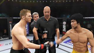 Daniel Hooker vs. Bruce Lee (EA Sports UFC 2) - Rematch (CPU vs. CPU)