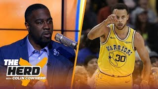 Chris Haynes on Steph Curry's 51-point night, LeBron's Lakers 1st win of the season   NBA   THE HERD