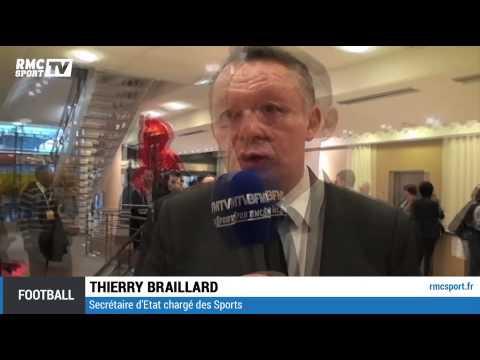 "Football / Braillard : ""Notre arbitrage doit plus se professionnaliser"" 18/10"