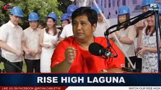 RISE HIGH LAGUNA MAY 29 2018 Mr Kingat Mr Sagaysay Brigada Eskwela 2018