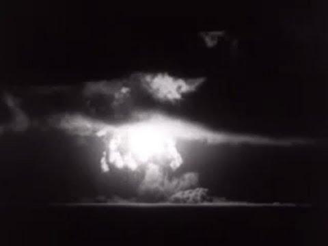 Atom bomb test, Eniwetok atoll - Newsreel, December 1950