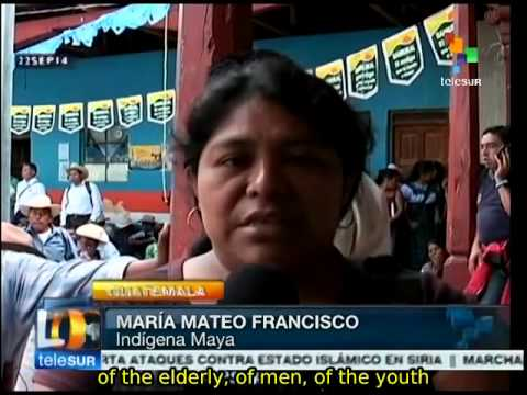 Guatemala: Mayan K'iche reaffirm opposition to mining operations