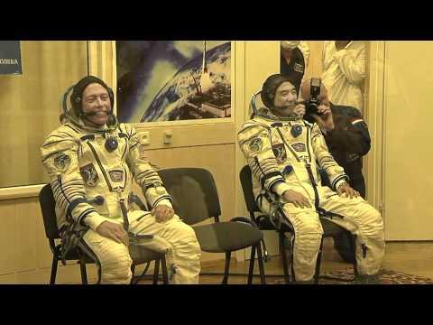Soyuz Crew Ready for Launch
