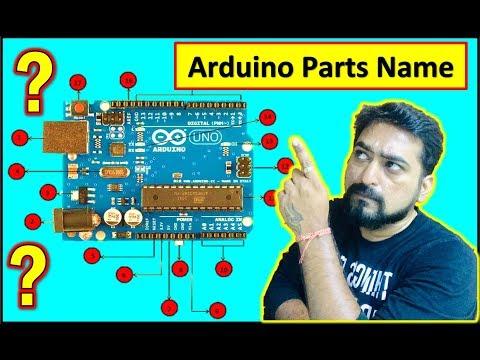 Arduino Parts Name | Arduino पार्ट्स का नाम | ARDUINO पिनट्यू