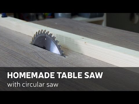 Thumbnail: How To Make A Homemade Table Saw With Circular Saw