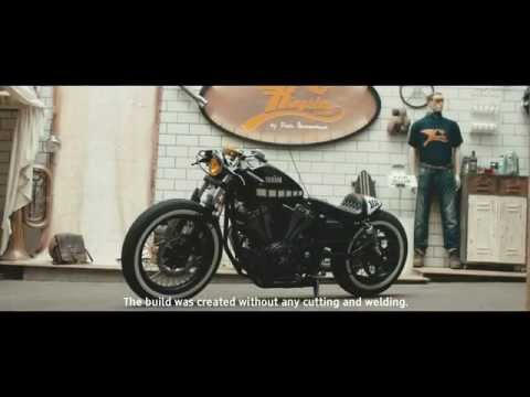 Yamaha Yard Built XV950 'The Face' by Kingston Customs
