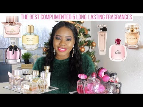 TOP 20 BEST FRAGRANCES FOR WOMEN - LONG LASTING & COMPLIMENTED PERFUMES