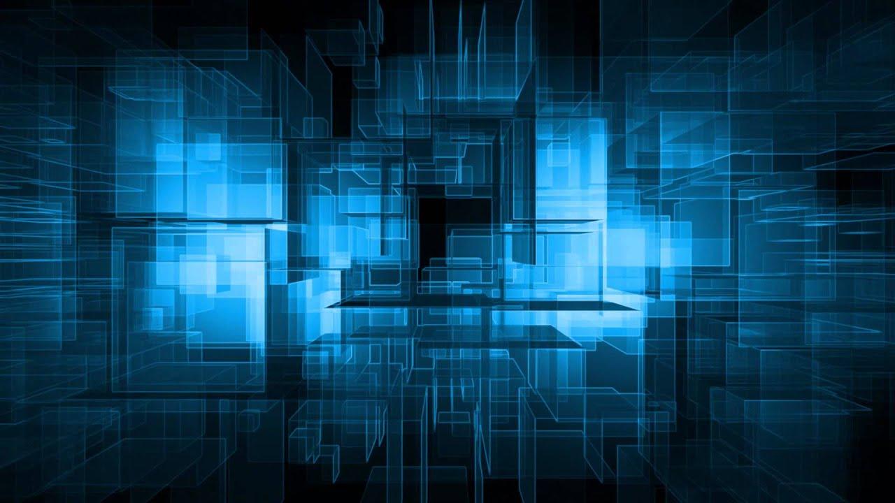 Motion Background Full Hd Blue Grid Youtube
