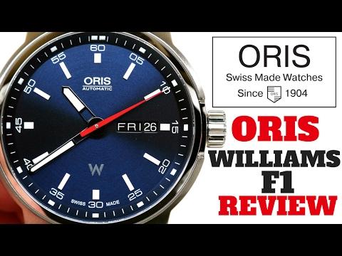 (4K) ORIS WILLIAMS F1 MEN'S WATCH REVIEW MODEL: 73577164155MB