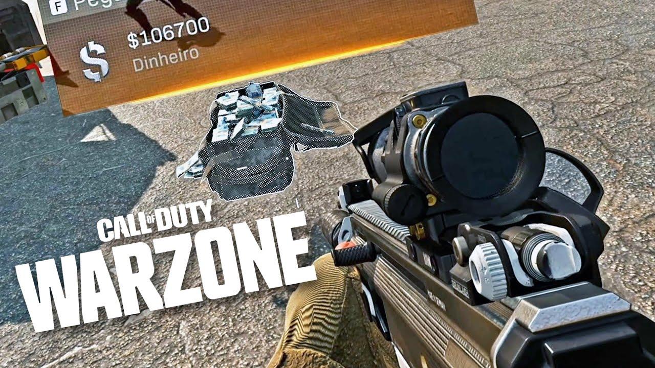 COD Warzone - Eu nunca vi TANTA GRANA assim!