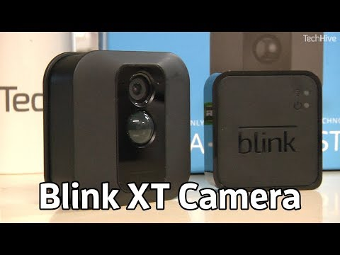 Blink XT Home Security Camera | TechHive Reviews - YouTube
