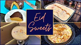 Lockdown Easy Eid Sweets | Steamed Cake | Apple French Toast rolls | Makhana Kheer | Apple Pancake